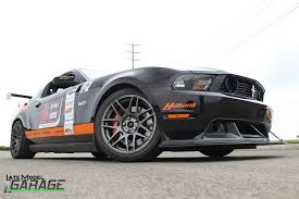 2012 mustang wheels the end is nier andrew nier s 2012 ford mustang late model garage