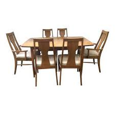 Dining Room Table Furniture Vintage U0026 Used Dining Table U0026 Chair Sets Chairish
