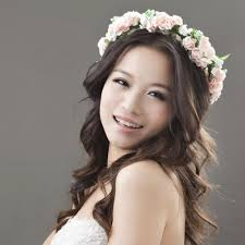 flower headbands bridal wedding party hair garland band flower crown headband