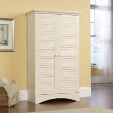 storage cabinet linen closet distressed furniture office pantry