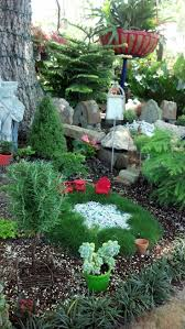 Landscaping Ideas Around Trees Pictures by 807 Best Fairy Garden Images On Pinterest Fairies Garden Gnome