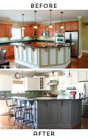 painting oak kitchen cabinets white before and after painting melamine kitchen cabinets before and after spray cost