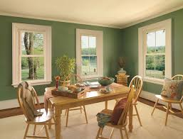 nice green nuance inside house paint ideas that has cream moder
