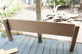 Queen Size Headboards And Footboards by How To Make A Wood Headboard And Footboard 18297