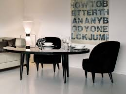 Black Oval Dining Table Modern Dining Room Ideas Photos Small Oval Dining Table Wood