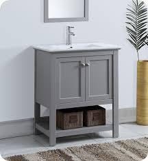 Traditional Bathroom Vanities Fresca Fcb2305gr I Manchester 30
