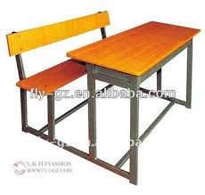 Wooden Student Desk Flyfashion Sf 65 Antique Cheap Wood Double Attached Student