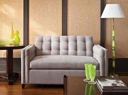 Sleeper Sofa For Small Spaces Light Grey Color Best Sleeper Sofa For Small Spaces Beside Oak