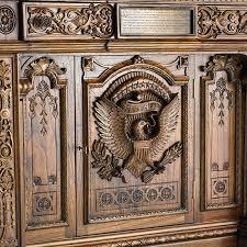 Presidential Desks American President U0027s Resolute Desk The History Company