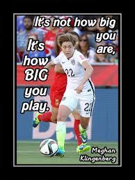 Usa Soccer Memes - soccer poster meghan klingenberg photo quote wall art 8x11 11x14