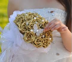 wedding flowers kent silk petals cheap 2015 bling wedding bridal bouquet