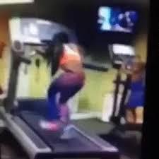 Treadmill Meme - girl eaten by the treadmill gif on imgur