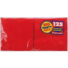 big pack beverage napkins 5 x5 125 pkg walmart