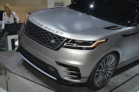 land rover velar for sale new range rover velar brings its tech fest to new york