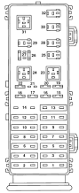 jeep cherokee fuse panel 1999 wiring diagram simonand