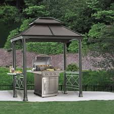 Sunshade Awning Gazebo Outdoor Extraordinary Grill Canopy For Your Backyard Decor