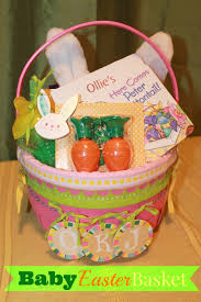 baby easter basket polka dotty place baby easter basket