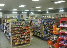 convenience store lighting