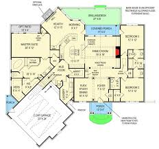 Cool Floor Plan by Cool Mountain Cottage With Bonus Expansion 12275jl