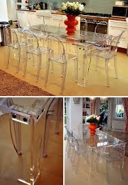 acrylic dining room table clear perspex dining table designed with removable legs for ease of