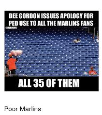 Dee Gordon Meme - dee gordon issues apology for ped use to all the marlins fans all 35