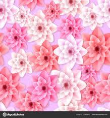flowers seamless pattern element vector background vector gerbera flowers seamless pattern stock vector artabramoa