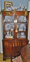 china cabinet blue china cabinet formidable painted curio