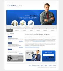 business template websites donwload