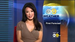 news anchor in la hair sharon tay 2012 06 01 cbs2 kcal9 hd brown dress youtube