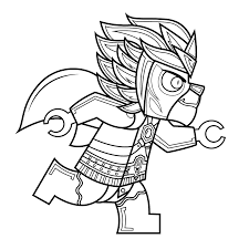 lego chima coloring pages eagle eris coloringstar