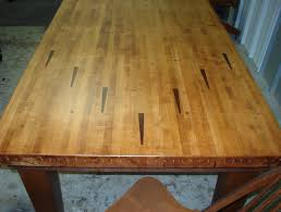 Kitchen Tables And More by Dining Table Made From Repurposed Bowling Lane Arrow Marker