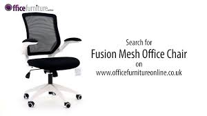 White Mesh Desk Chair by Fusion Mesh Office Chair Features And User Guide Youtube
