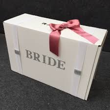 wedding dress boxes for travel plain elasticated security straps