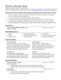 Narrative Resume Template Write A Resume Template Saneme