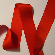 silk ribbon crimson silk satin ribbon 36mm 1 1 2 renaissance