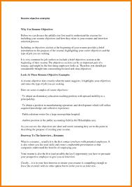 Bartender Resume Objective Examples Resume Objective Example Resume Examples And Free Resume Builder