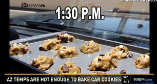 cookies cuisine az enough to bake cookies in a car business insider