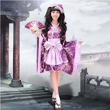 high quality japanese kimono dress cosplay costume dress