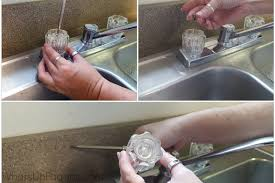 how to deep clean your faucet sink handles