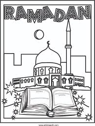 ramadan coloring pages getcoloringpages com