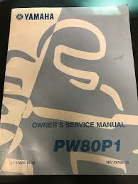 yamaha pw80p1 owners service manual pn lit 11626 15 28 u2022 24 99