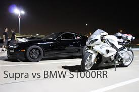 1000rr bmw bmw 1000rr vs toyota supra on the highway hd