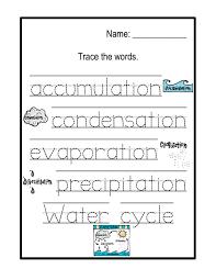 water cycle printable preschool printables