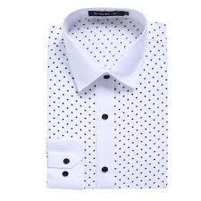 starfield polka dot dress shirt for men u2013 merchant of the universe