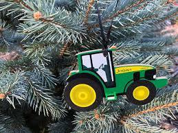 ornaments boy ornament skid steer tractor bobcat