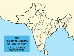 Asia Blank Map The Regional Cuisine Of South Asia In Nyc Part 3 Maharashtra