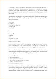 Cover Letter Sample Cover Letter 9 High Student Cover Letter Samples Invoice Template