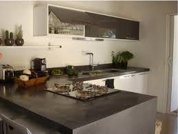 faire plan de cuisine faire un plan de travail en béton ciré dans la cuisine decoration