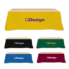 8 ft table skirt table covers banners runners promotional tradeshow table skirts