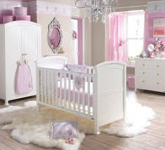 Chandelier Nursery Bedroom Luxurious Chandelier For Baby Nursery Above White Crib And